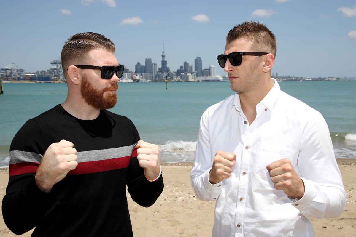 Bad blood behind the #UFCAuckland headliner?   Rivals @danthehangman and @felderpaul address their online back-and-forth in the lead up to Sunday's showdown.