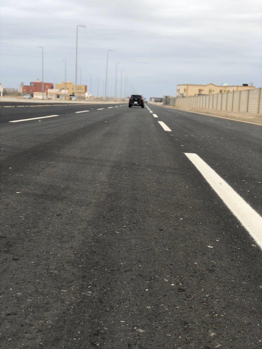 مشروع طريق الملك سعود في المرحلة الأولى:• طول الطريق 6 كلم• عرض الطريق 52م • عدد 322 عامود إنارة • 48 لوحات إرشادية