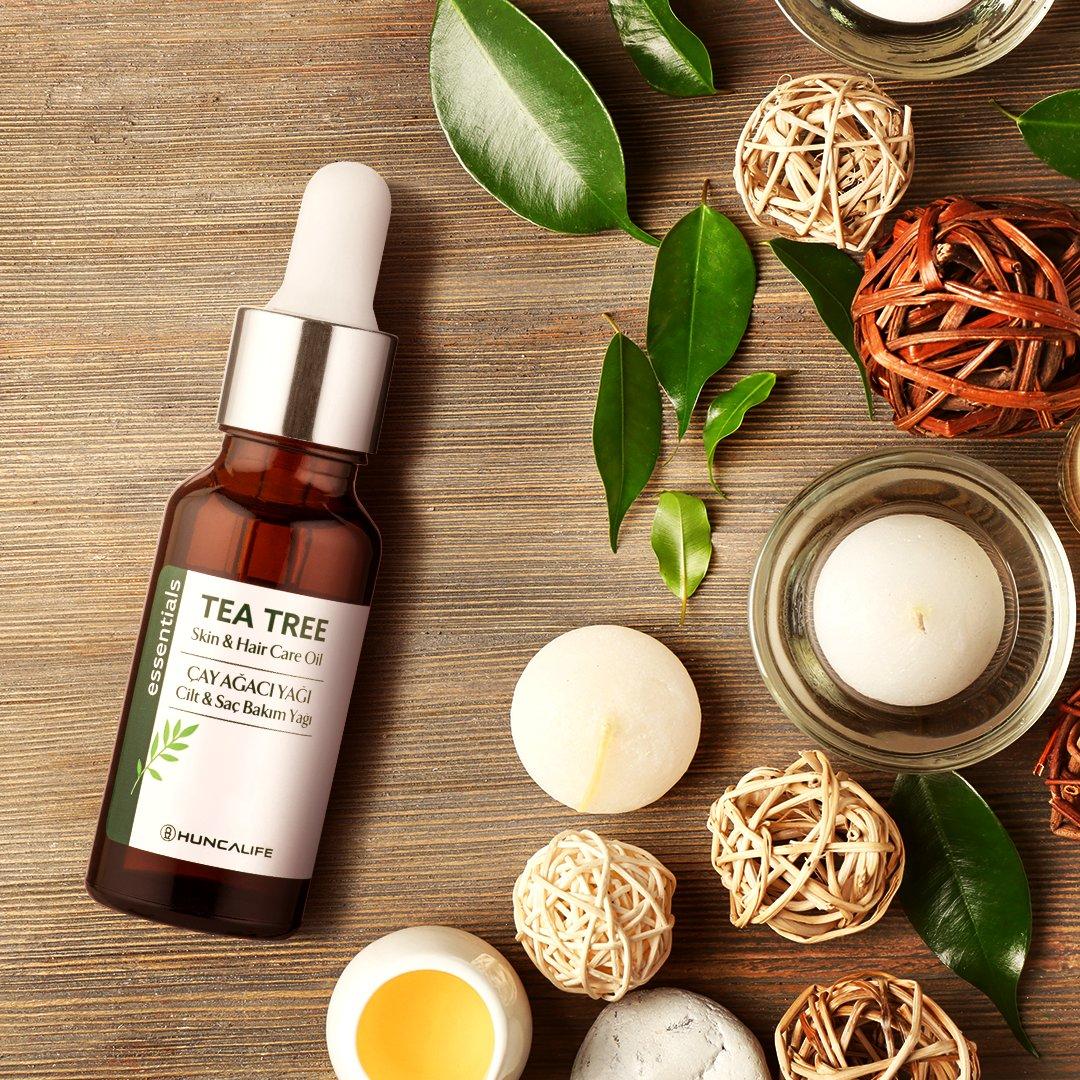 Çay ağacı yağı içerikli ürün hem saça hem cilde uygulanabilir. Saçların daha güçlü, parlak ve sağlıklı olmasını desteklerken cildin daha pürüzsüz ve ipeksi görünecek. ✨🌿 🔎27521