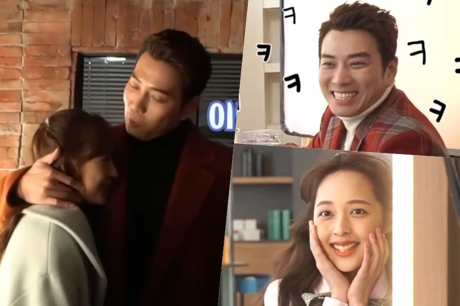 WATCH: #JooSangWook And #KimBoRa Cant Stop Acting Silly Behind The Scenes Of #Touch soompi.com/article/138384…