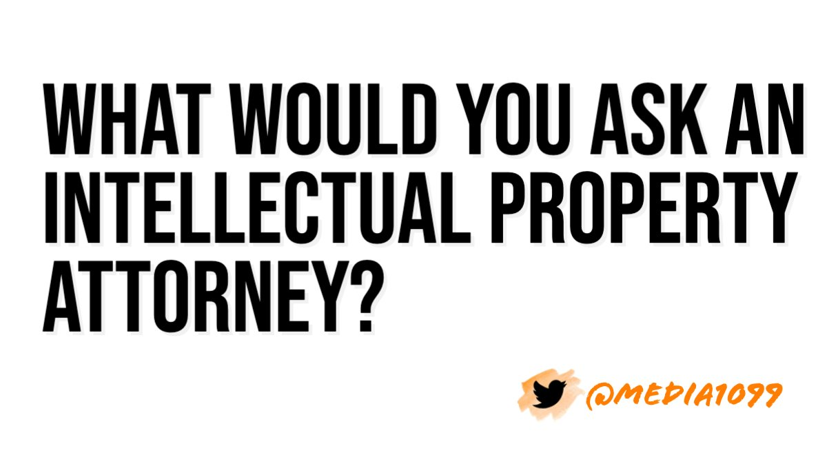 Creatives, what are your questions?  Hit us up with thoughts on what you want to know about #intellectualproperty.  #freelancelife #businesspodcast pic.twitter.com/12OcyrVjj6