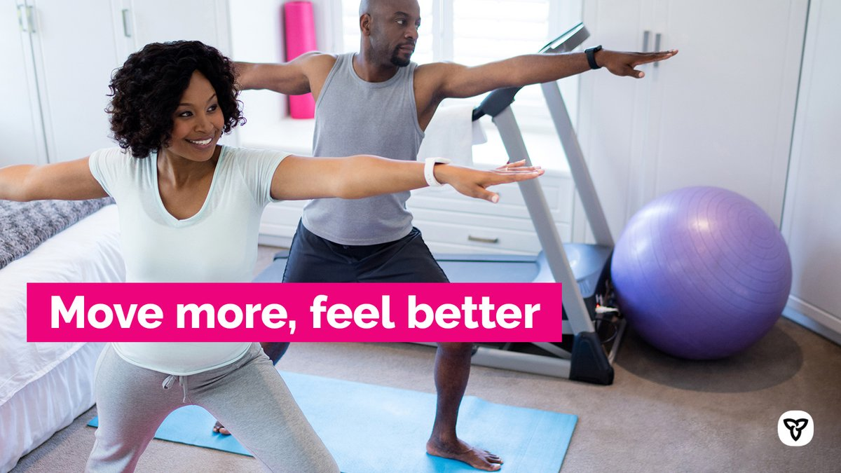 DYK that physical activity can lower your risk of heart disease, increase your energy and improve your sleep? Find out more here: http://bit.ly/36D2v2f