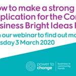 Image for the Tweet beginning: Register for the #BrightIdeas Fund