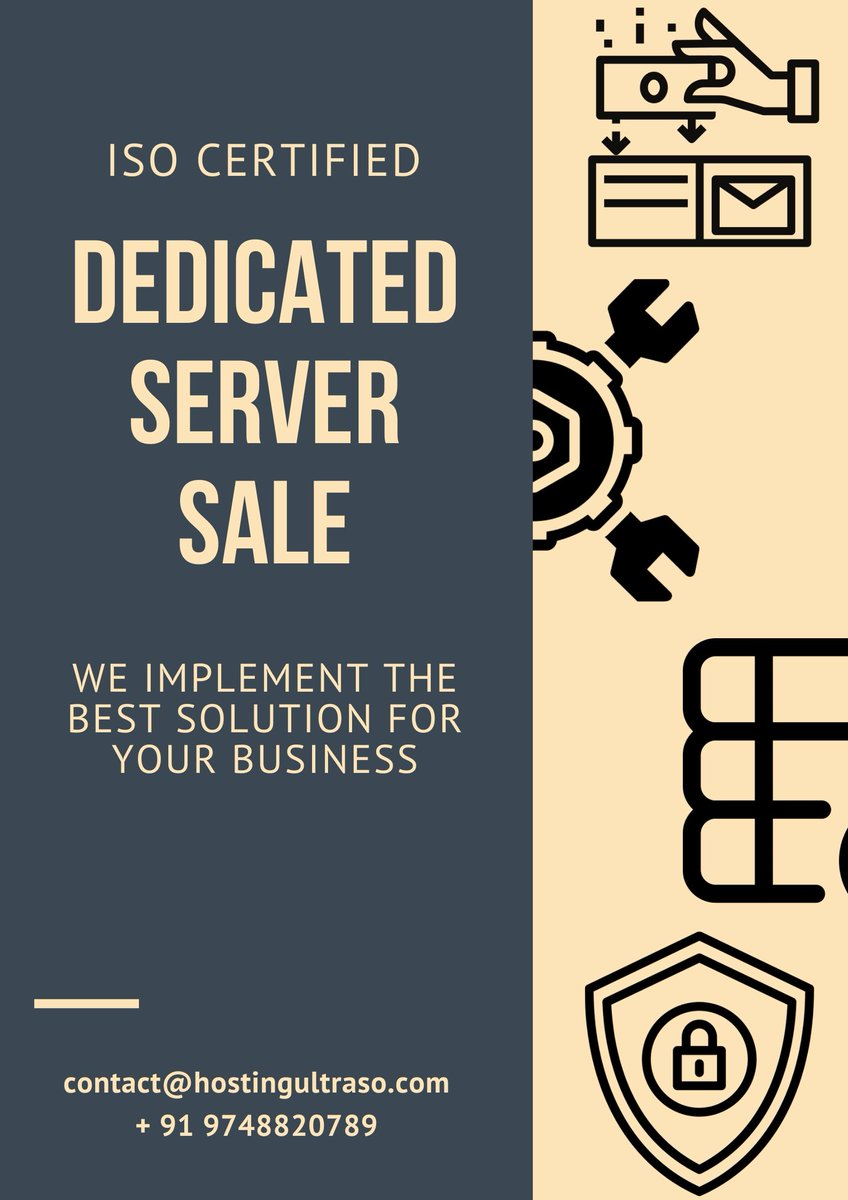@hosting_ultraso the best #dedicated #server provider in the world. We provided our #services on more than 119+ cities around the world... . Check out Our Website at   https://hostingultraso.com   +91 97488 20789  contact@hostingultraso.compic.twitter.com/0vQgWJRwwe