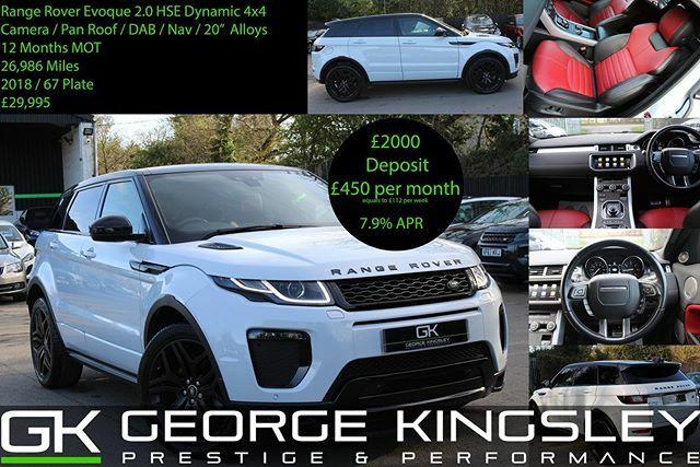 Amazing Range Rover Evoque just arrived!!! #evoque #rangeroverevoque #rangerover #luxurylifestyle #essex #carsforsale #centreforce883 @centreforce883 https://ift.tt/3bQYIBCpic.twitter.com/cApFI6PYZ9