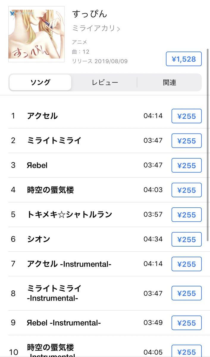 ミライアカリの初のアルバム『すっぴん』の配信が始まってます✨iTunesレコチョクmoraイベントで買えなかった方💓CD持ってるけど欲しい方💓是非手に入れてください✨✨ヘビロテしよ🎶🙉🙉🙉🎶