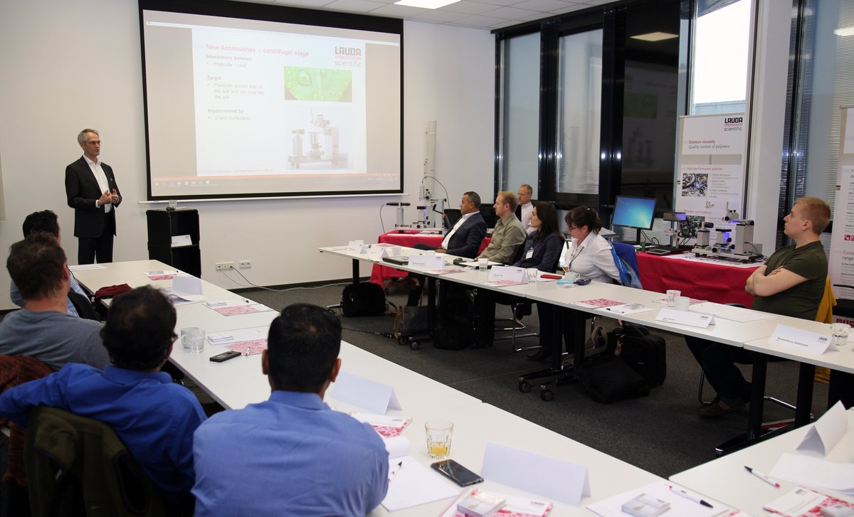 This week, various representatives are visiting us for a product #training. The participants receive a comprehensive insight into our product portfolio. The regular training courses enable us to offer our customers the same high level of #services #worldwide.pic.twitter.com/7YqypL9QwA