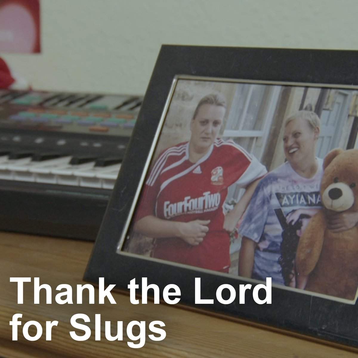 It's one year today since Michael Sleggs passed. Thinking of you, Slugs.
