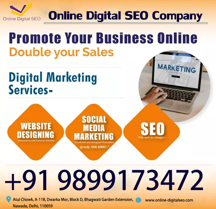 Promote your Business online double your sales ..... with an http://online-digitalseo.com company. Offer just for you call Now for the best offer deal your business+919899173472 https://bit.ly/2SCeqJm  #onlinedigital #onlinedigitalseo #onlinebusiness #offerjustfryou #UnitedByAsimpic.twitter.com/KdwfE207P3
