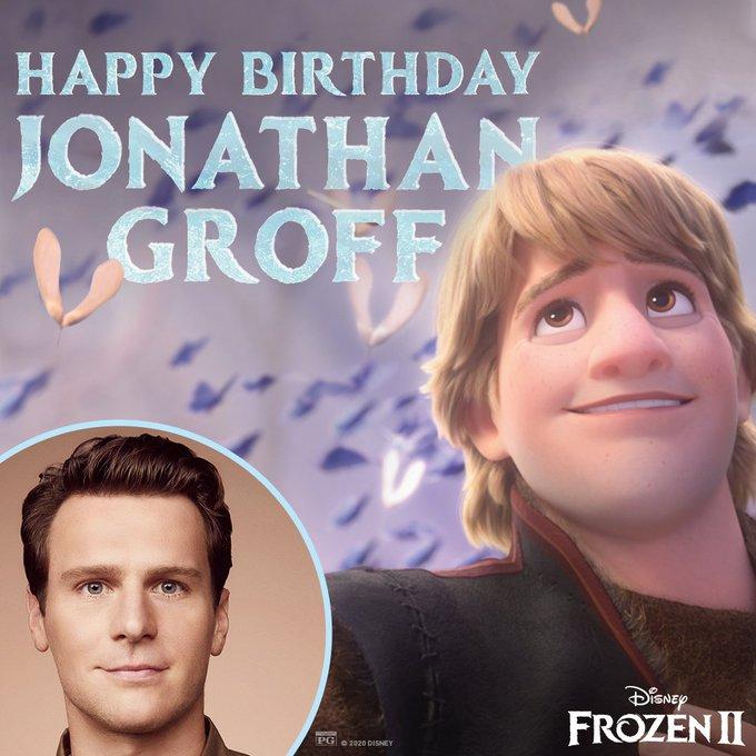 Happy birthday Jonathan Groff!