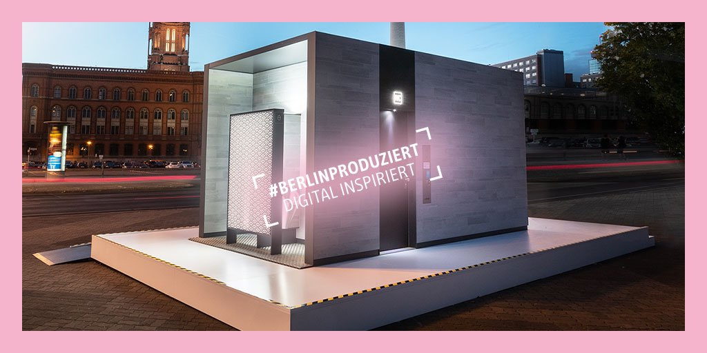 RT BerlinPartner: Immer eine saubere Sache: Die hochmodernen City-Toiletten von wallgmbh setzen nicht nur in der deutschen Hauptstadt Standards in Sachen Hygiene, Technik und Design.#Berlinproduziert für die Weltpic.twitter.com/1IdjGHMEIB