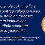 Image for the Tweet beginning: Maailma hukkuu turhaan valoon, mutta
