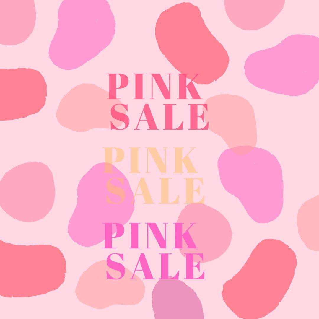 お知らせ♡ひなまつりSALE♡ 桃の節句に因んで、ピンク色の商品がすべて30%OFF! 3月3日(火)表参道店限定開催! 1日限りの特別割引! お気に入りのピンク商品を探してみてね ※ウェブショップ対象外pic.twitter.com/xjaVEUExzm