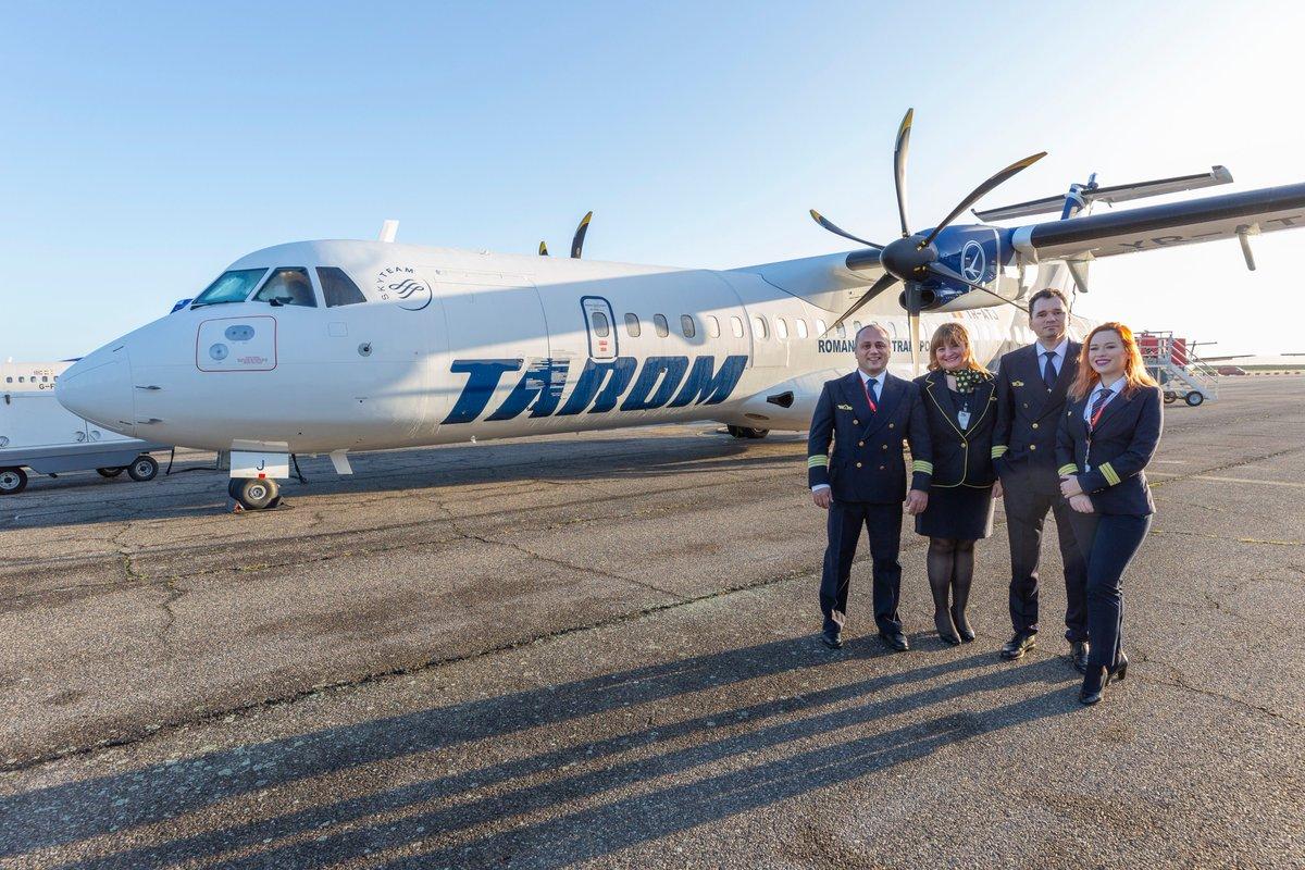 Resultado de imagen de tarom airlines ATR 72-600