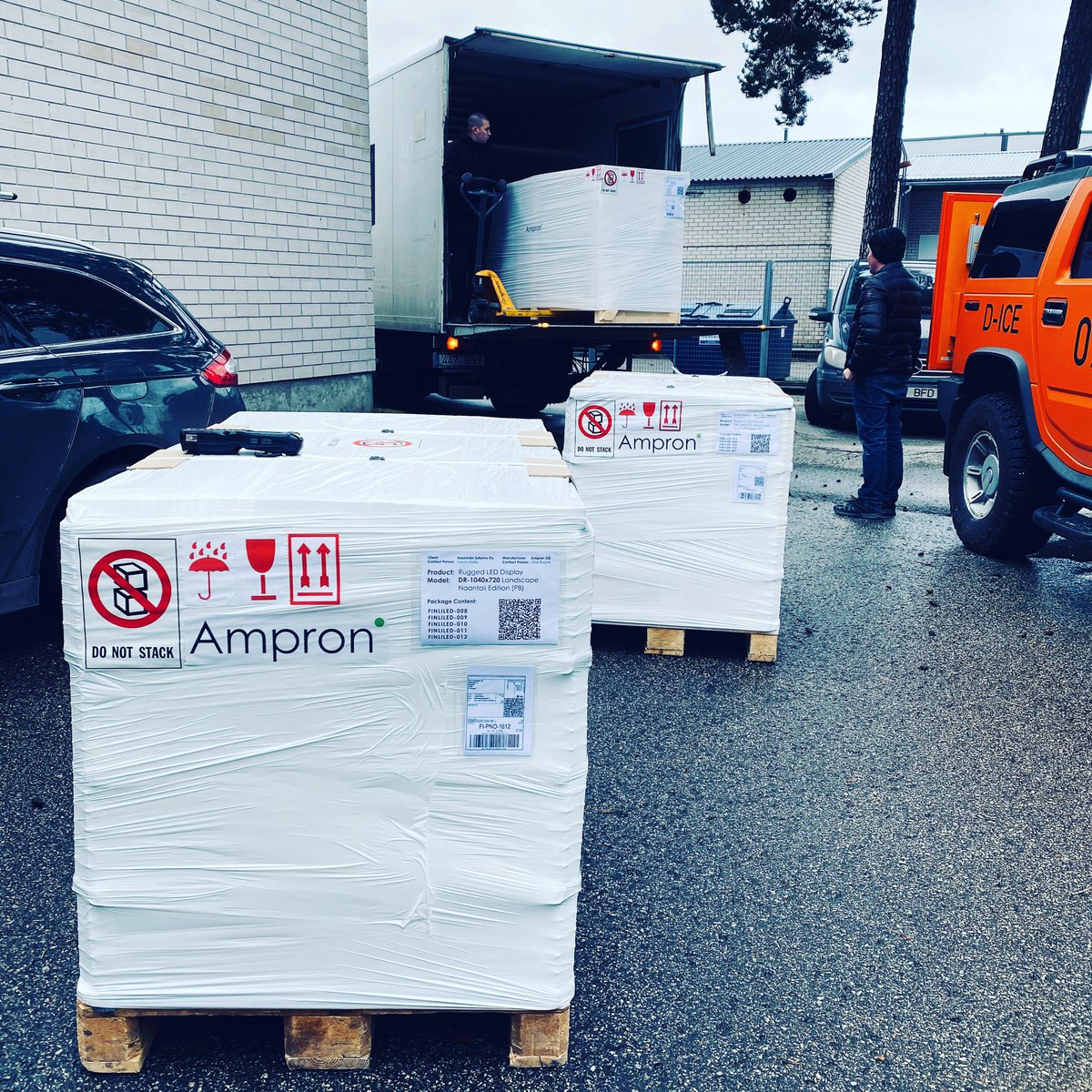 Another deliver for another port. Our worlds most modern LED electronic message boards for rough environment. . See the products and decide if they would suit your needs: https://ampron.eu/products/rugged-led-message-boards … . #ampron #port #portautomation #digitalguidance #madeinestonia pic.twitter.com/fkuSsizCJr