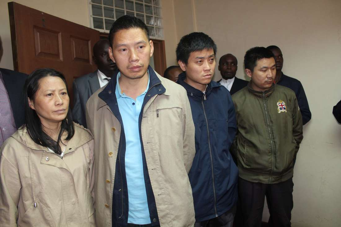 COURT SUSPENDS Interior CS Fred Matiangi order to deport four Chinese nationals accused of caning a Kenyan worker at a Nairobi restaurant.