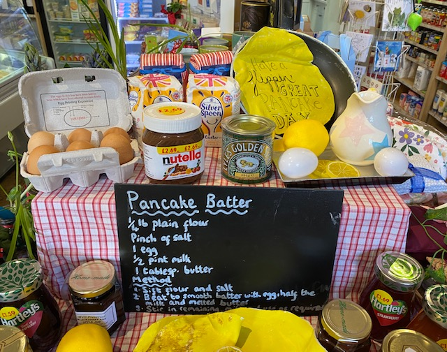Shrove Tuesday approaching... To all you would be pancake tossers, we have all the ingredients and more in store. Come on down!! #shoplocal  #supportlocal  #pancakeday  #tossthepancake  #oxfordshire  #flippin  #pancake  #whereyoushopmatters  #localshop  #ewelme  #thechilterns  #chilterns