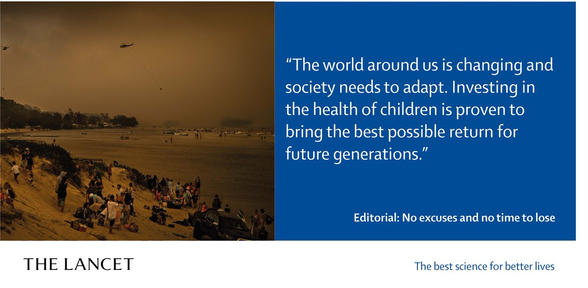The task at hand is urgent and immense, but we and the Commission are optimistic that it is still possible to change the world for the better, for and with children.  Editorial to accompany new @WHO  @UNICEF  @TheLancet  Commission #FutureChild   https://hubs.ly/H0n3ysR0