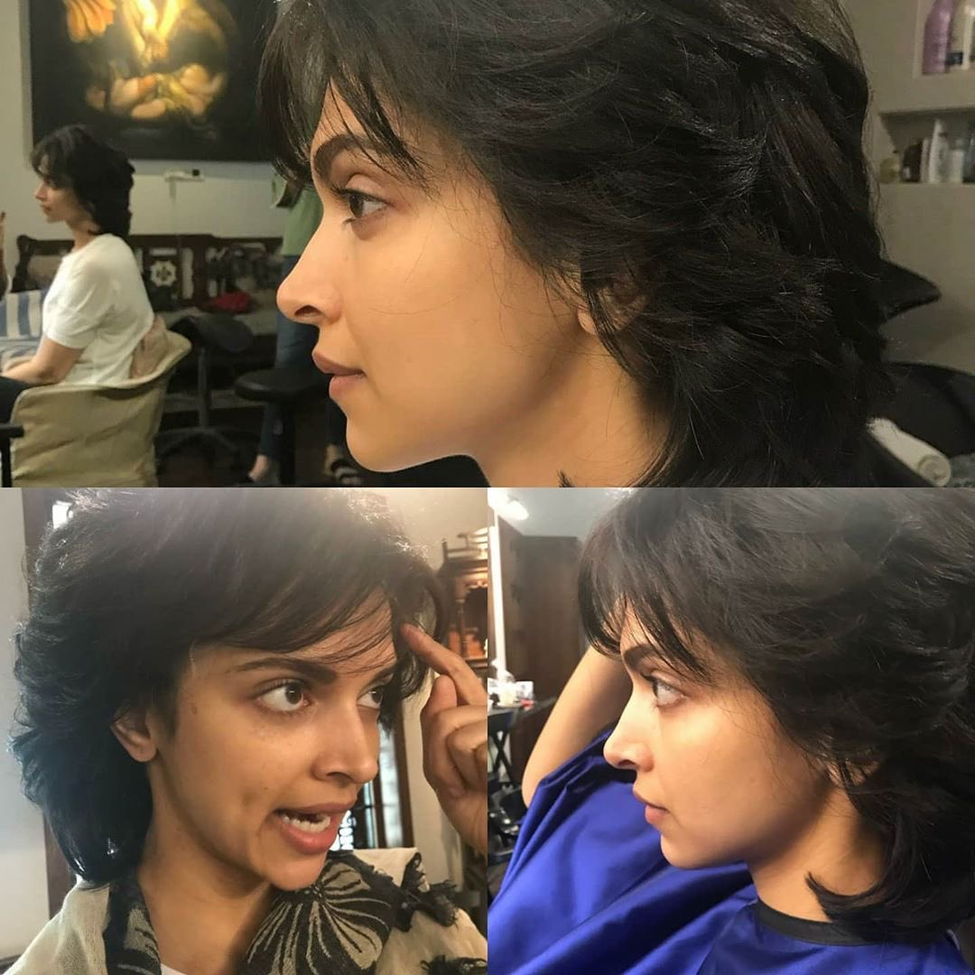 Deepika getting ready for her look as Romi dev in @83thefilm  <br>http://pic.twitter.com/ROohbirKsq