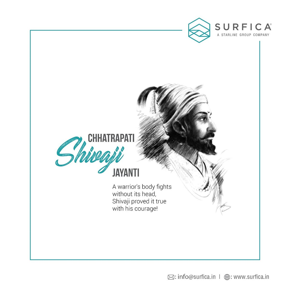 Shivaji raj is the true warrior who brought SWARAJ. We pay tribute to him and all such soldiers on this day.  #shivajimaharaj#shivajijayanti#jayshivaji#harharmahadev#maratha#marathawarrior#shivajiwishes#greetings pic.twitter.com/aRcUarueW4
