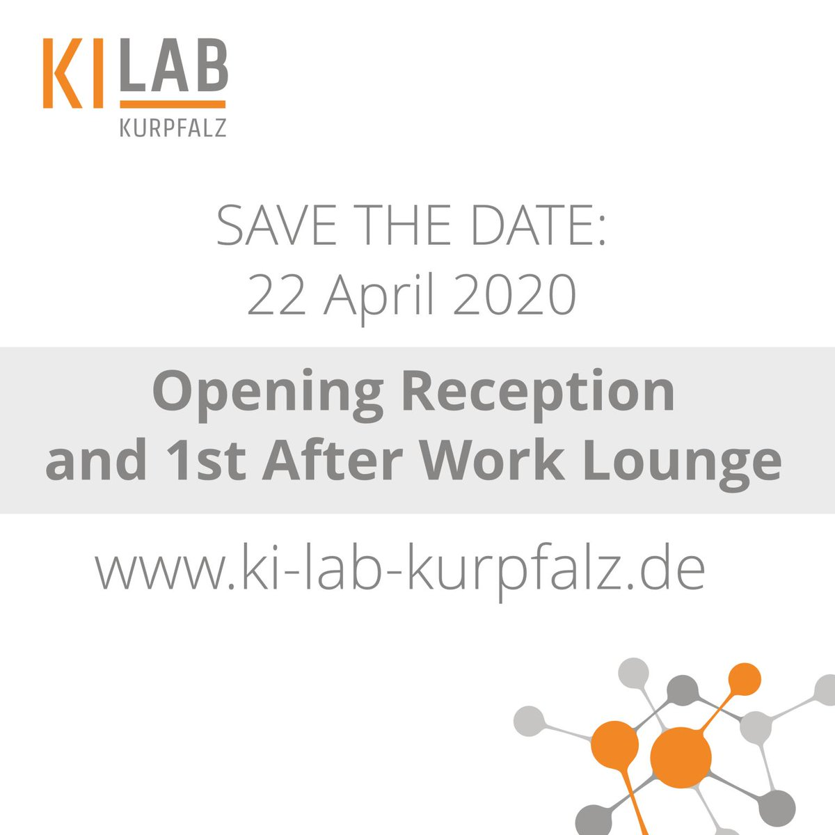 Curious about how #AI will change your #business? Do you have an idea about an AI use case? Join our KI-Lab Kurpfalz in Heidelberg! We are looking for companies & individuals to create an awesome network! Get your calendar out & save the date  #AI #MachineLearning #DeepLearningpic.twitter.com/JiRBq6MkWX