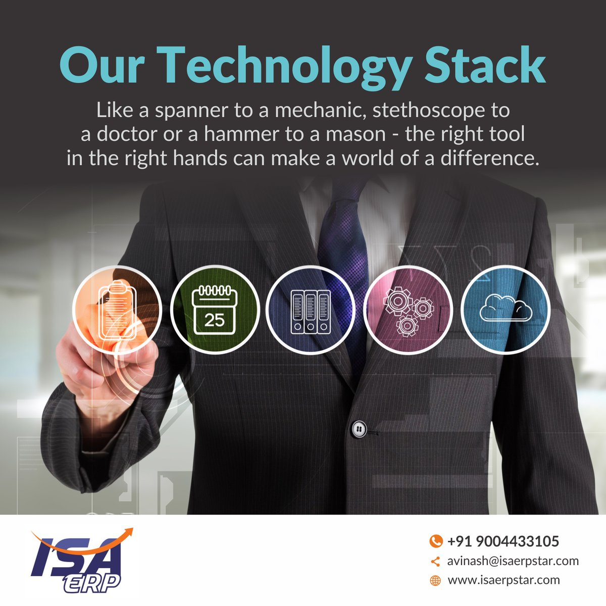 At ISA ERP, we have handpicked digital technologies that will allow us to serve the best value to our clients. Our ERP solution is an all-in-one, affordable ERP solution to manage your entire business from sales and customer relationships to financials and operations.  #Software pic.twitter.com/3cYaEo4JV9