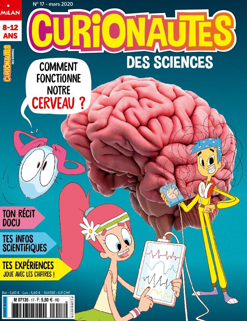 Notre cerveau est étonnant ! Il nous permet d'apprendre de nouvelles choses, de communiquer avec nos ami·e·s et tout simplement de vivre. ! 🧠 Mais comment fonctionne-t-il ? C'est la question de Curio ce mois-ci. 🧐 ▶️ https://www.curionautes.com/sommaires/mard-2020-comment-fonctionne-le-cerveau/…