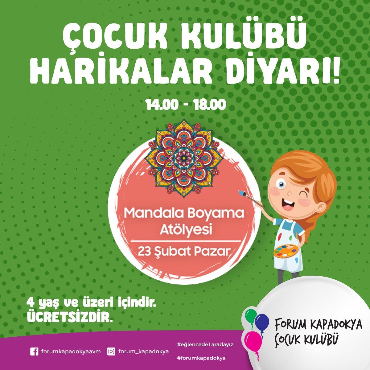 Forum Kapadokya On Twitter Forum Kapadokya Cocuk Kulubu Bu Hafta
