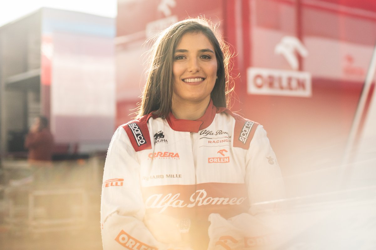 Tatiana Calderon continues as Alfa Romeo Racing ORLEN test driver and ambassador. 👏 @TataCalde   📲 https://bit.ly/39ODAdc