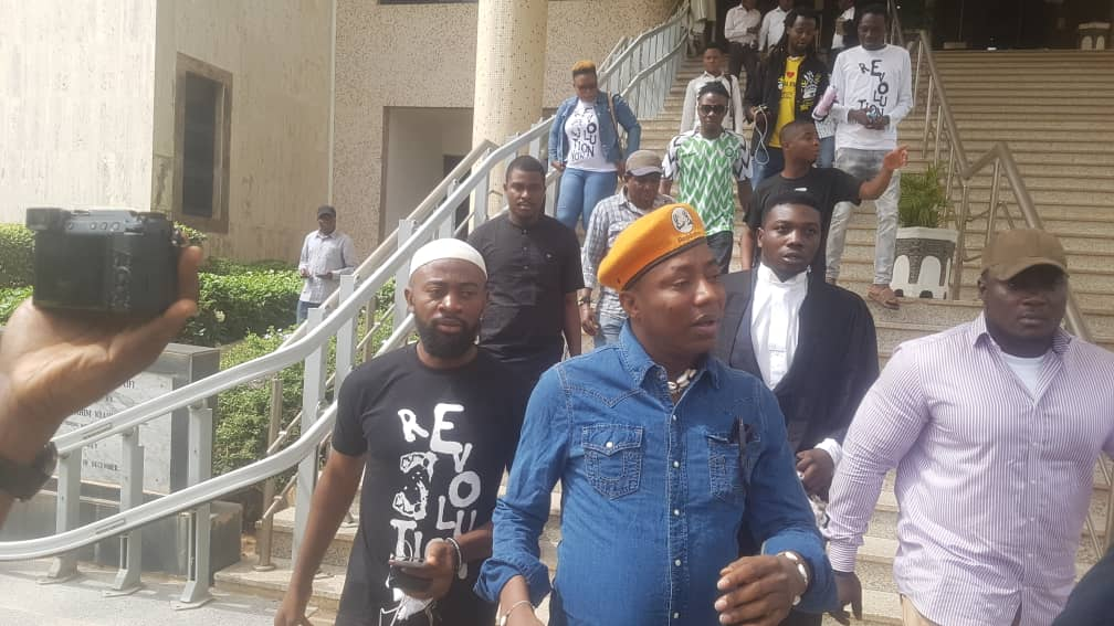 Breaking: Court Adjourns Sowore, Bakare Rights' Enforcement Suit To  March 25, 2020pic.twitter.com/VFyCrpGZKI