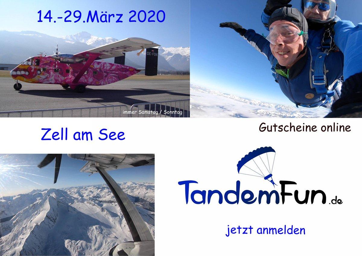 Tandemsprung Zell am See März 2020. http://tandemfun.de Fallschirmspringen #Gutschein #Geschenk #Geschenkidee #Dingolfing #München #Landshut #Regensburg #Deggendorf #Cham #Niederbayern #Straubing #Amberg #Schwandorf #Erding #Freising #Rosenheim #Traunstein #Pinzgau #Kaprunpic.twitter.com/NfIoAWlJxP