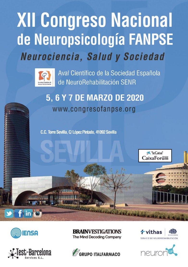 📍@Neuro_IENSA patrocina el XII Congreso Nacional de #Neuropsicología de la @FANPSE, que reúne en #Sevilla del 5 al 7 de marzo a más de 200 profesionales de la especialidad para intercambiar conocimientos y experiencias ➡️ @olgaprian #congresoFANPSE2020