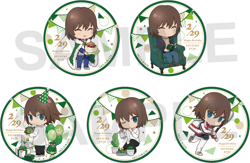 【新商品情報】2月15日より開催中の「新テニスの王子様」×「東急ハンズ」のイベント期間中、不二周助の誕生日にあわせて新商品が追加発売が決定いたしました。詳細はこちら⇒http://tenipuri.jp/news/news/9264.html…#テニプリ