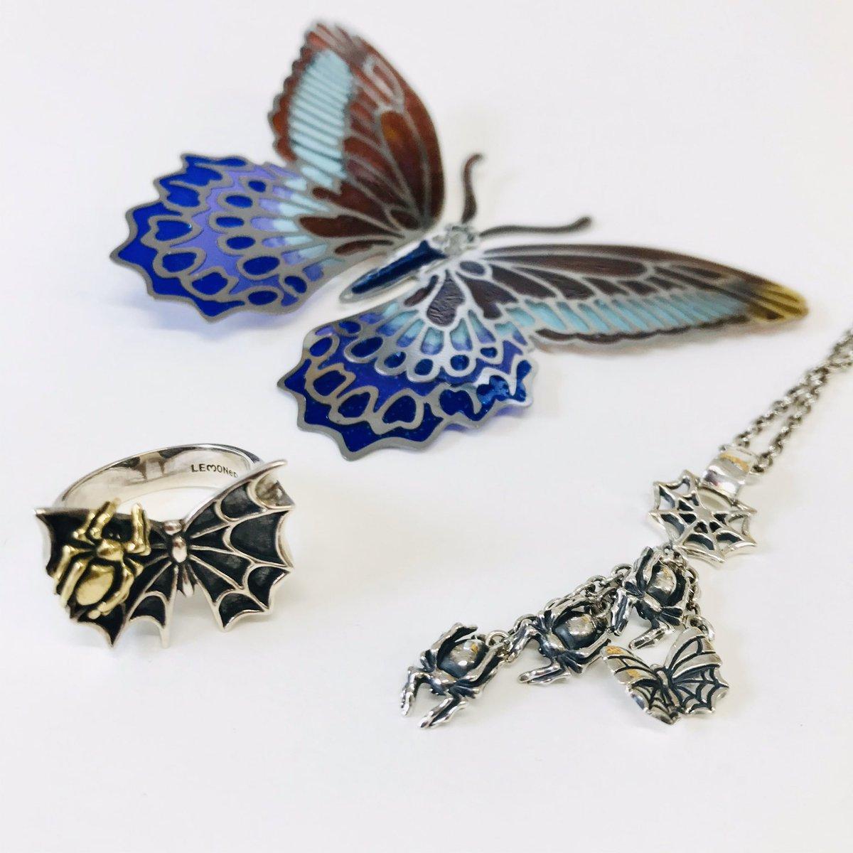 【全店】蝶と蜘蛛の物語…。ストーリー性溢れるシルバーアクセサリーが復活します(°▽°)《詳細はレモショブログ↓》 #レモショ #レモネードショップ #アクセサリー #シルバーアクセ