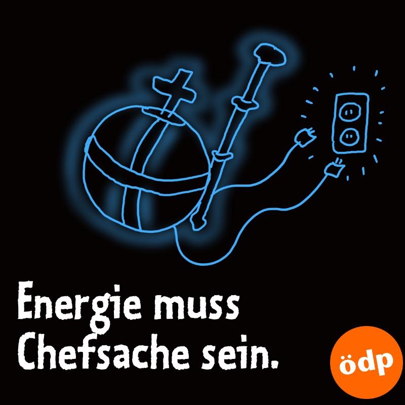 Die Energiewende gehört zur Chefsache gemacht, denn davon hängt unsere Zukunft und die der uns nachfolgenden Generationen ab. Ein Kompetenzgerangel können wir uns nicht leisten. Das Thema Energie gehört zum Umweltministerium. Das kann dann die Ziele der Klimagipfel umsetzen. #ödppic.twitter.com/TZZZdtSCXv