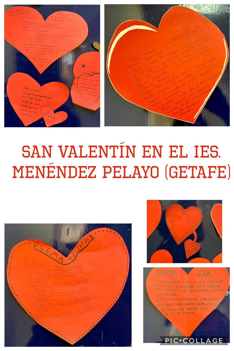 Damos las gracias al alumnado voluntario del IES. Menéndez Pelayo (Getafe) que ha participado en la actividad del buzón del amor y la amistad. Sin su ayuda, no habría sido posible. #bilinguismo #sanvalentin #educacionenvalores #bilingual #sanvalentinesday @educamadridpic.twitter.com/TYPQ9v1vE0