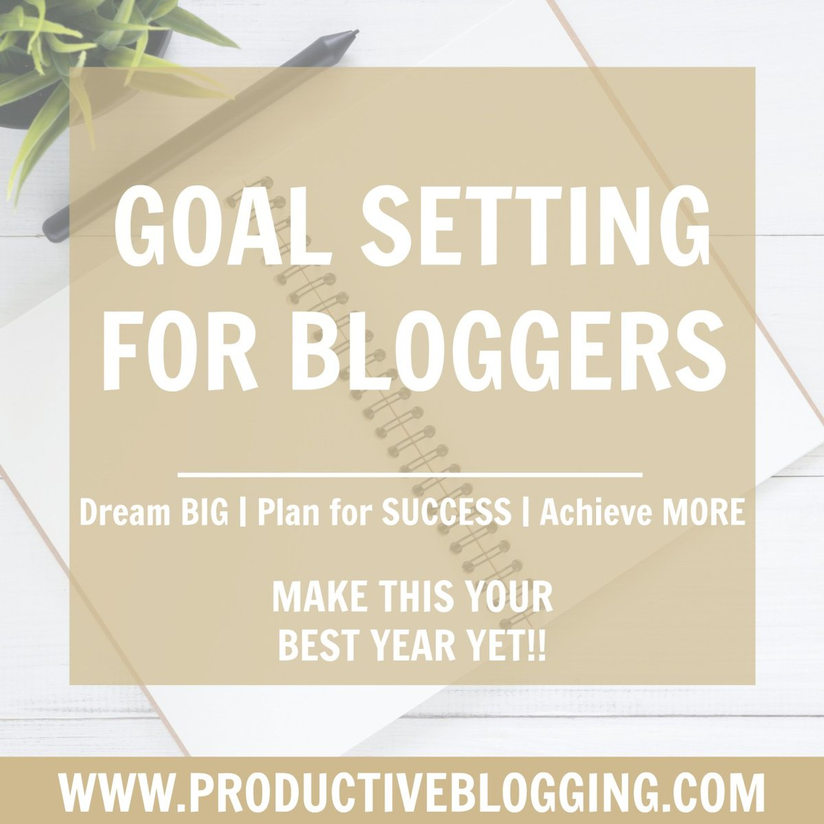 If you want help setting goals for your blog, I really recommend reading my blog post on goal setting for bloggers.  You can also grab yourself my FREE goal setting worksheets >>> http://bit.ly/2MSQLQJ   #goalsetting #bloggingtips #productivebloggingpic.twitter.com/lvB0PD9OD6