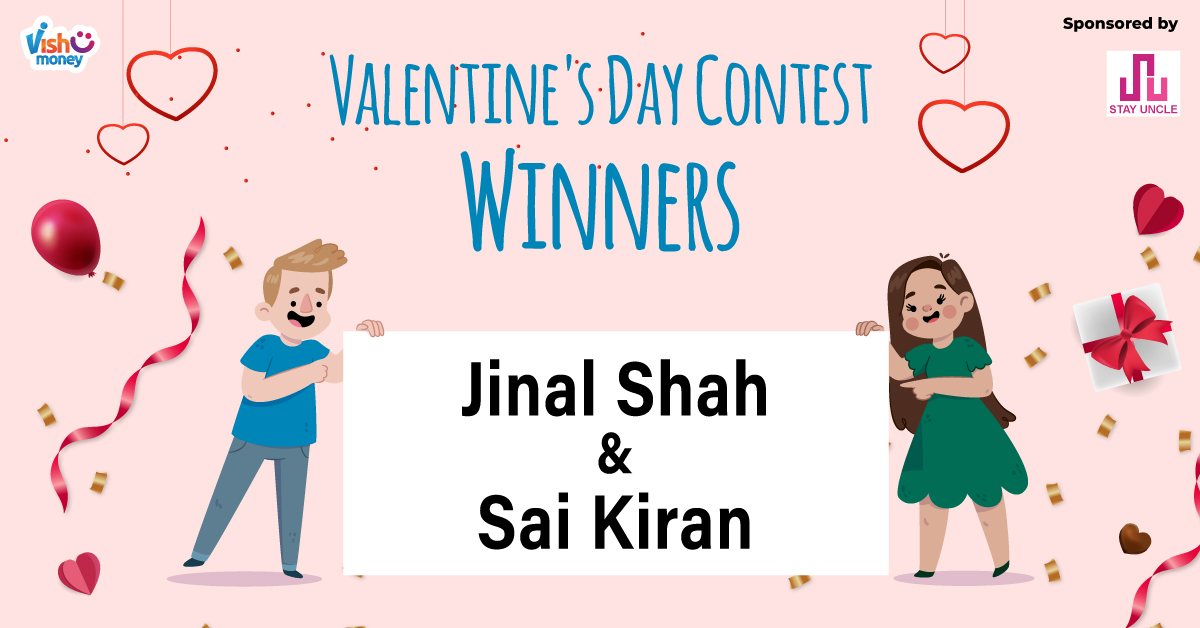 Congratulations!🥳🥳 Here are the winners of Valentine's Day Contest.  Not You? 😕 No worries many more contests are your way so stay tuned 😄.  #Congratulations #Winners #ValentinesDayContest #VishumoneyLoveContest #Vishumoney #stayuncle #vishumoneygiveaway #giveaway #giveaways