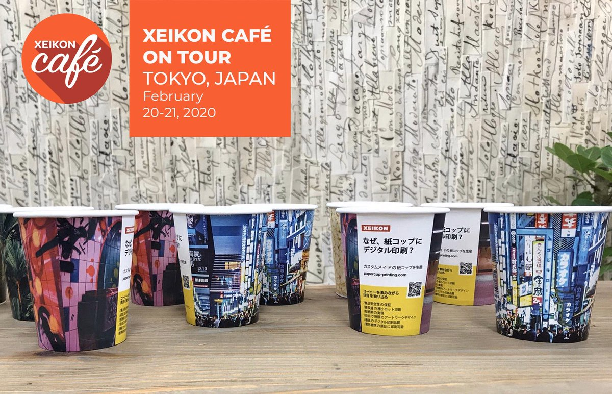 And stay tuned for updates on our #xeikoncafe Japan the next days ! ありがとうございました