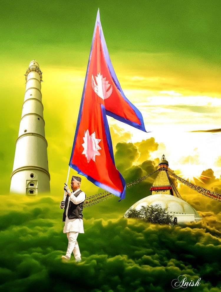 Happy #DemocracyDay to all  Jay #Nepal . . Design By Anish Chaudhary #travel #travelNepal #VisitNepal2020<br>http://pic.twitter.com/Gk2mmNCmxp