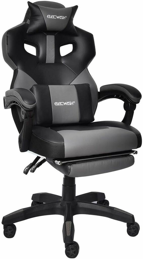 Gaming Chair Racing Office Chair High Back Computer Game Desk Chair E-Sports Game Chair Ergonomic Swivel Executive Reclining Chair with Footrest Adjustable Armrest and Lumbar Support Grey https://swivelchair.site/gaming-chair-racing-office-chair-high-back-computer-game-desk-chair-e-sports-game-chair-ergonomic-swivel-executive-reclining-chair-with-footrest-adjustable-armrest-and-lumbar-support-grey/ … pic.twitter.com/ugMYUx9yxV