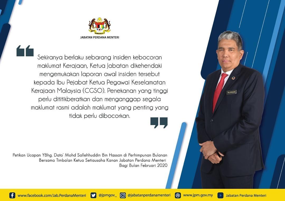 Jab Perdana Menteri On Twitter Petikan Ucapan Ybhg Dato Mohd Sallehuddin Bin Hassan Di Perhimpunan Bulanan Bersama Timbalan Ketua Setiausaha Kanan Jabatan Perdana Menteri Bagi Bulan Februari 2020 Tksuk Jpm Perhimpunanbulananjpm Sharedprosperity