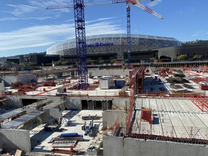 20.02.2020: 30% des travaux du futur magasin Ikea sont réalisés au pied du stade © Radio France