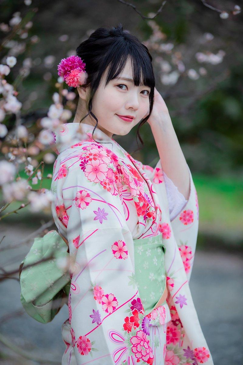 2020.2.16 みん撮舞鶴公園amiさん(その3)#ami(@amphoto6 )#みん撮(@minsatsu)(アメブロ)amiちゃんの着物姿、ほんとよかったです~(^^♪ますます魅了された気がします・・・。