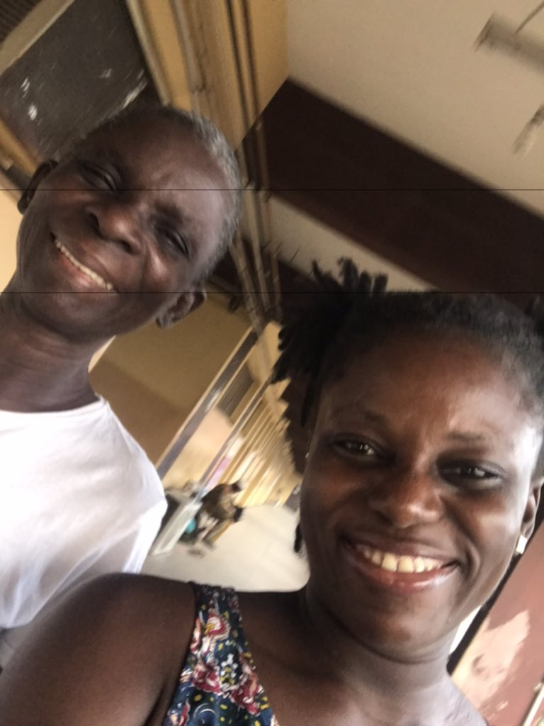 Finally discharged from the hospital and blessed with the opportunity to be able to exercise with my mum as she recovers... I feel beyond blessed. ❤️❤️ #gratefulheart  #journeytorecovery  #backtolife  #insideoutwellness