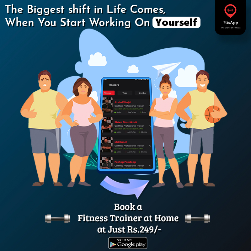 Start working for yourself now with #FitsApp  : https://bit.ly/2slnE2b  #WednesdayThoughts #fitnesslover #fitindia #india #gymfreak #healthyliving #gymlife #instafit #bodybuilding #heart #instagood #motivation #lifestyle #crossfit #like #gym #workout #fit #trainingpic.twitter.com/plOtjRytg8