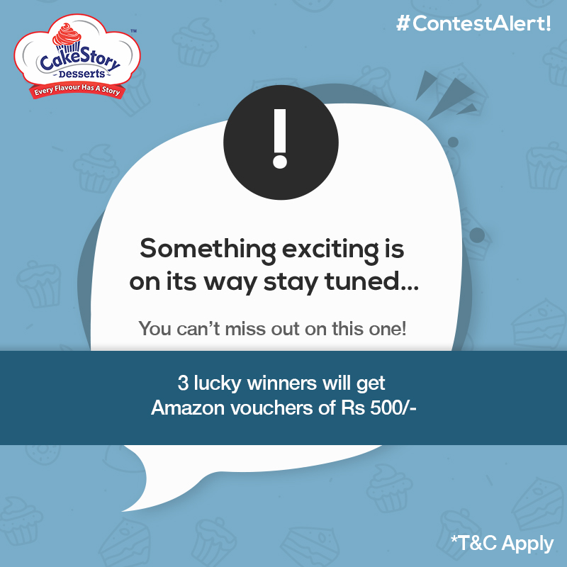#ContestAlert #ContestIndia #Contest Something is being whipped stay tuned as you might be one of the lucky ones to win! Fresh updates coming soon. #CakeStoryDesserts . . . #cakeoftheday #cakedesigner #cakelovers #photocakes #Customisedbakes #Pune #CakeStyle #CakeStand #Desserts