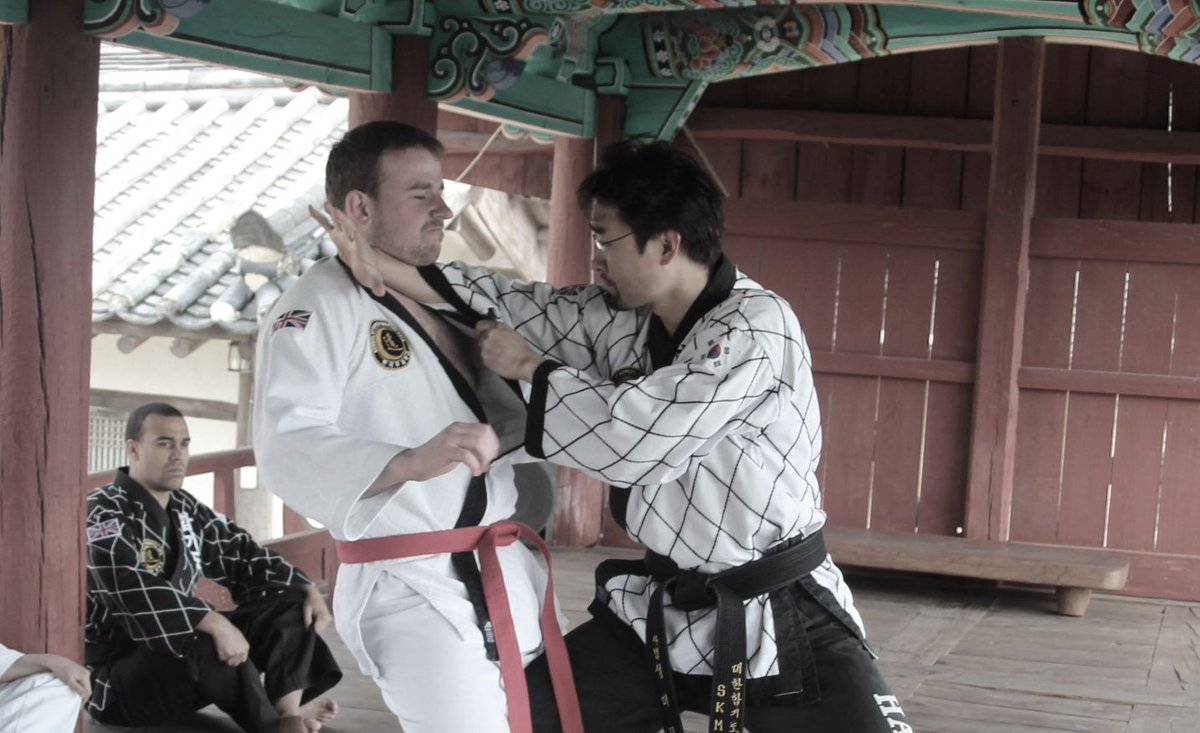 The art of Hapkido offers training including correct breathing techniques, kicking,  pressure points, throwing techniques, weaponry and falling techniques that are vital for self-protection in real-life situations. #skmahapkido #hapkido #martialartspic.twitter.com/MIyMpxKuAP
