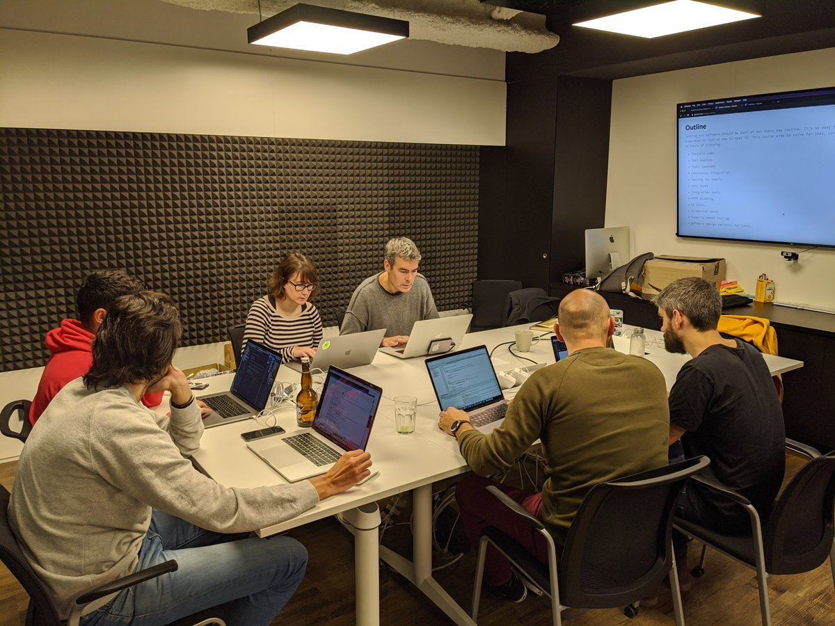 In November last year, we gave a #MobileTesting training at @AccentureSpain , it was really enriching for both us and the team. Remember, if you want to train your #techteam, we're always up for the challengeContact us http://bit.ly/2MpuVUBpic.twitter.com/X22faxrqoM