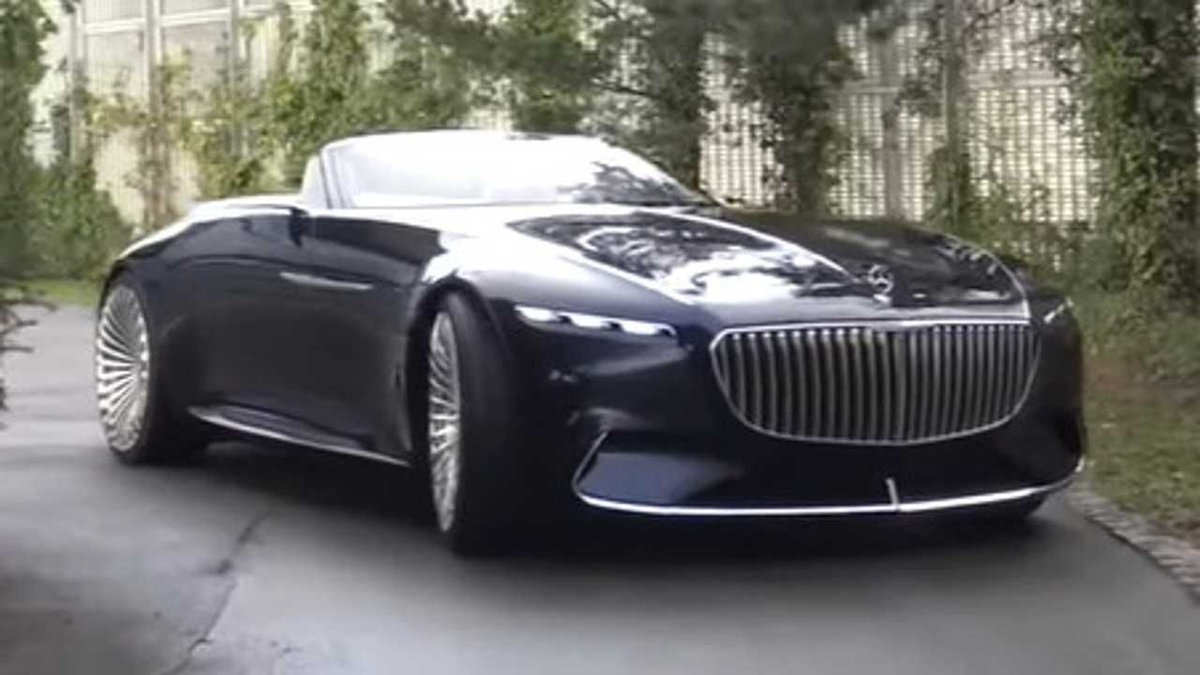 WOW! Vision Mercedes-Maybach 6 Cabriolet is still a sight to behold: https://buff.ly/37EBMSHpic.twitter.com/HEmLRWnEO1
